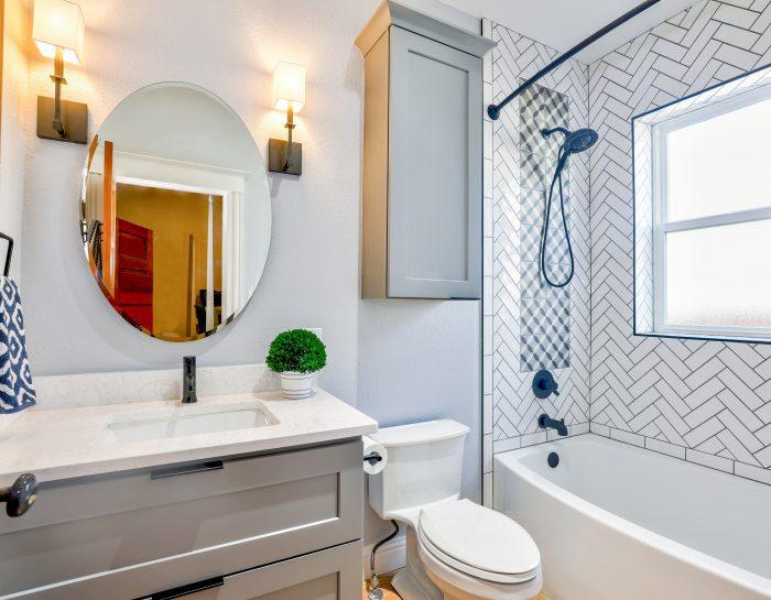 10 Ideen für kleine Badezimmer in deinem Stadtapartment