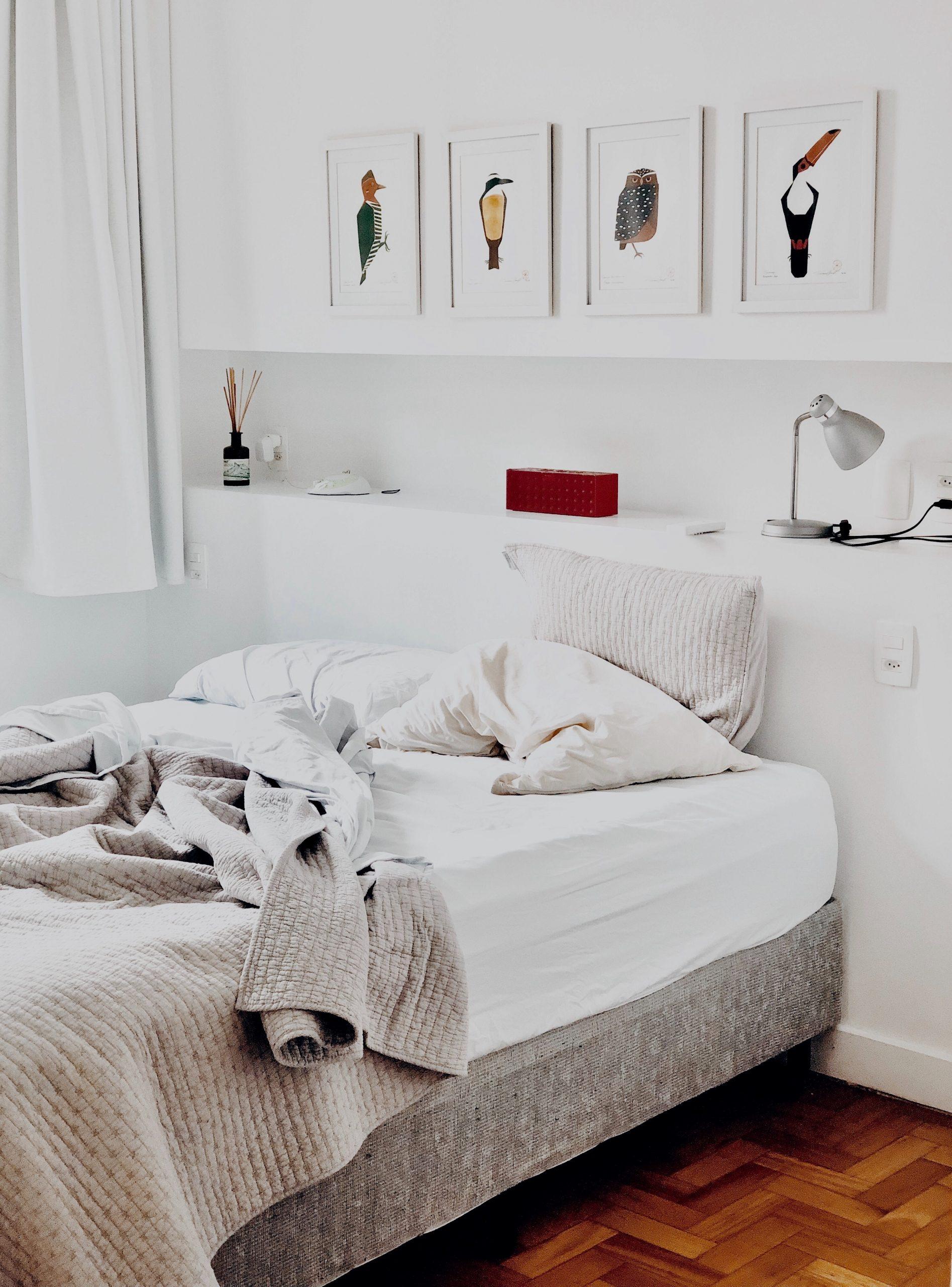 So richtest du ein kleines Schlafzimmer richtig ein